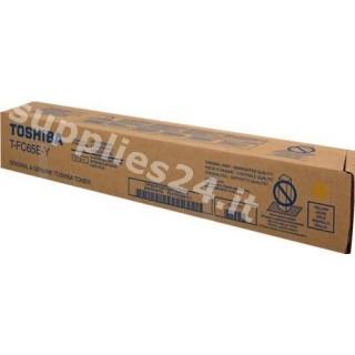 ORIGINAL Toshiba toner giallo T-FC65EY 6AK00000185