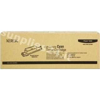 ORIGINAL Xerox toner ciano 106R01218 ~12000 PAGINE