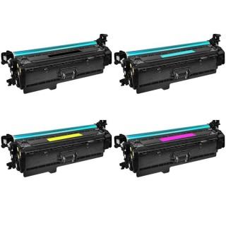 HP 201A 201X KIT 4 Toner Compatibili Per Hp Color LaserJet Pro M252 M274 MFP M277dw CF400X CF401X CF402X CF403X