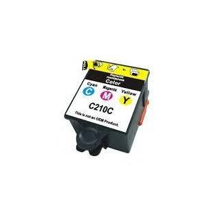 INK-M210C Cartuccia Rigenerato Colore Per Samsung CJX-1000 CJX-1050W CJX-2000FW