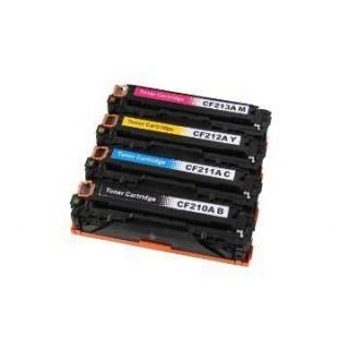 KIT 4 Toner Rigenerati CF210 211 212 213 Per Hp LaserJet Pro 200 M251 M276nw Canon LBP 7100 7110 MF 8230 MF 8280 CAN731