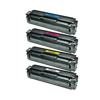 Kit 4 Toner Samsung CLP 410 415 CLX 4195 Xpress c1810w c1860