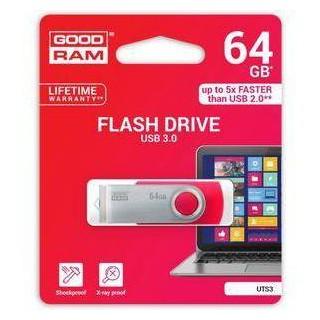Pendrive GoodRAM 64GB UTS3 BLACK USB 3.0 - retail blister
