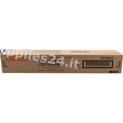 652511011 Toner Originale Ciano Per Utax CDC 5520 CDC 5525 206ci 256ci