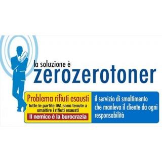 SMALTIMENTO TONER E CARTUCCE ESAUSTE 1 RITIRO ANNUO SOLO PER SAS/SNC/DITTE INDIVIDUALI