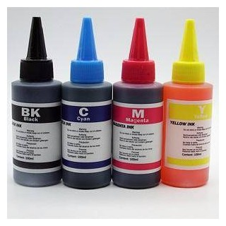 INK 100ml UNIVERSALE FOR HP LEXMARK CANON PHOTO CIANO