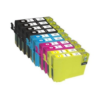 Epson 26XL Kit 10 cartucce compatibili Epson XP 510 XP 600 605 610 710
