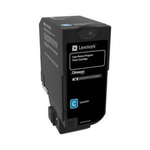 74C20C0 Toner Compatibile Ciano Per Lexmark CS720 CS725 3.000 Pagine