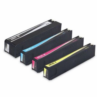 HP981XL Kit 4 Cartucce Compatibili Per Hp PageWide Enterprise Color 556xh 556dn MFP 586dn 586Z 586F