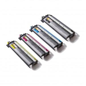 TN243 TN247 Kit 4 Toner SENZA CHIP Compatibili Per Brother DCP L3500 L3510 L3550 HL L3210 L3230 L3270 L3280 MFC L3710 L3730