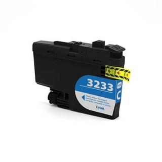 Cartuccia Brother LC3233C Compatibile Ciano