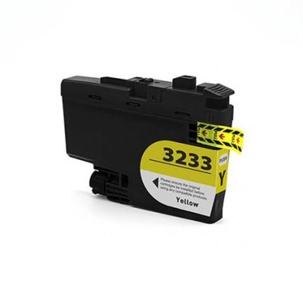 Cartuccia Brother LC3233Y Compatibile Giallo