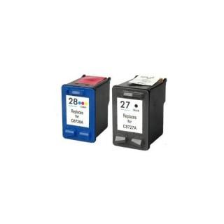 Cartucce Hp 27 e 28 Compatibili C8727AE e C8728AE