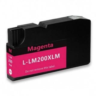 14L0199 Cartuccia N°200 Lexmark Compatibile Magenta