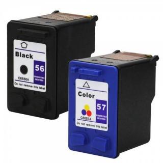 Cartucce HP 56 e HP 57 Compatibili Kit