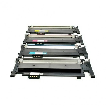 CLT-4072 Kit 4 Toner Compatibili Per Samung  CLP320 325 CLX3180 3185